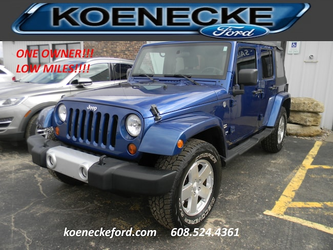 2009 Jeep Wrangler Unlimited Sahara 4x4 SUV