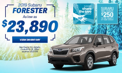 2019 Subaru Forester Offer