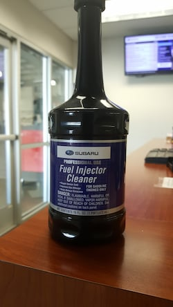 Subaru Fuel System Additive