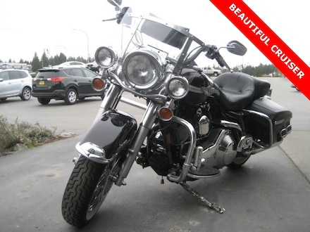 Used 2003 Harley-Davidson Road King Classic Motorcycle 1HD1FRW193Y735880 for Sale in Port Angeles, WA