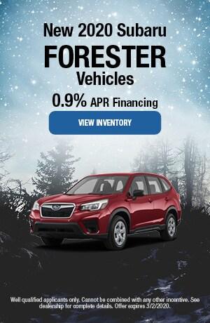 February 2020 Subaru Forester Vehicles