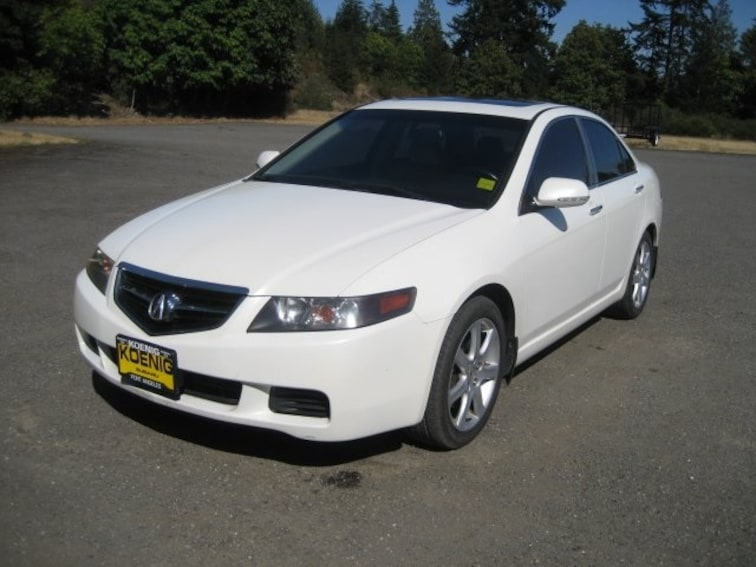 Used 2005 Acura TSX Base Sedan JH4CL968X5C027202 In Port Angeles, WA