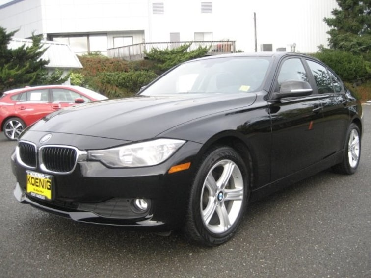 Used 2014 BMW 3 Series 320i Xdrive Sedan WBA3C3G57ENS68669 In Port Angeles, WA