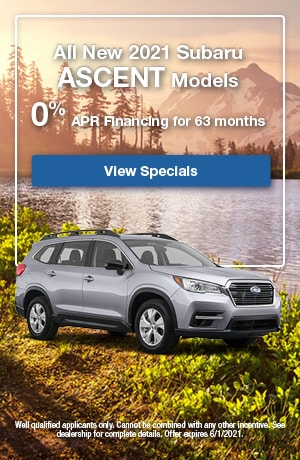 All New 2021 Subaru Ascent Models- May Offer