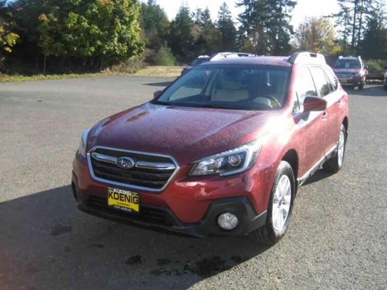 New 2019 Subaru Outback 2.5i Premium SUV In Port Angeles