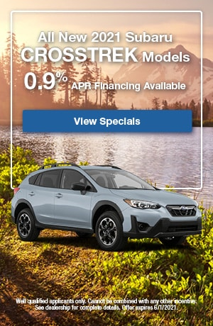 All New 2021 Subaru Crosstrek Models- May Offer