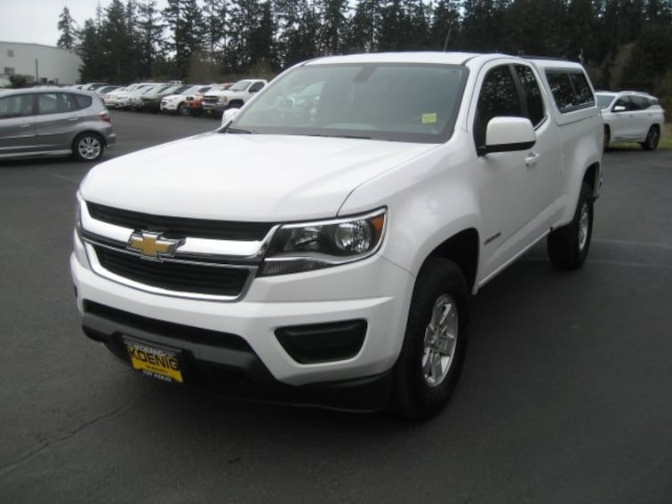 Used 2017 Chevrolet Colorado Work Truck For Sale In Port Angeles