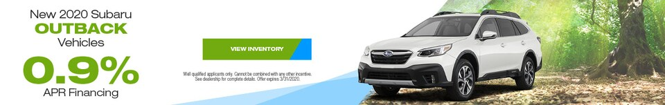 March New 2020 Subaru Outback Vehicles Finance Offer
