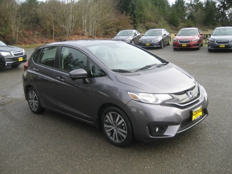 used 2015 honda fit ex for sale in port angeles wa near sequim and port towsend wa vin. Black Bedroom Furniture Sets. Home Design Ideas