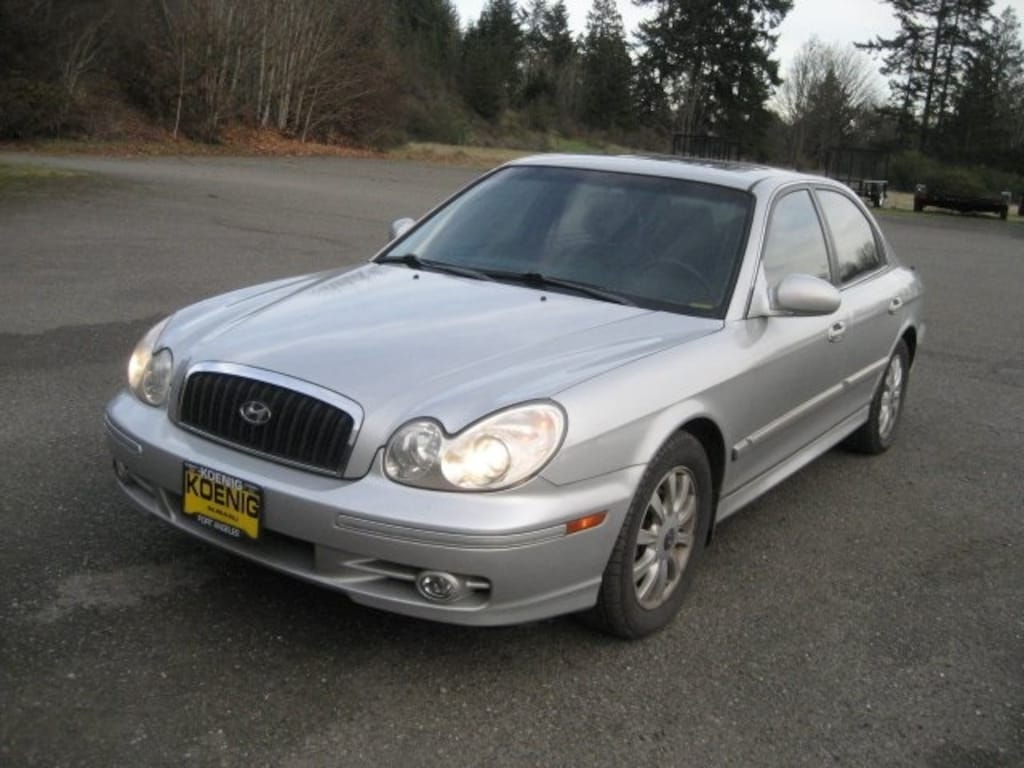 Used 2004 Hyundai Sonata Gls For Sale In Port Angeles Wa Near Sequim And Port Towsend Wa Vin Kmhwf35h14a003767