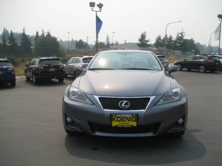 used 2012 lexus is 250 for sale in port angeles wa near sequim and port towsend wa vin. Black Bedroom Furniture Sets. Home Design Ideas