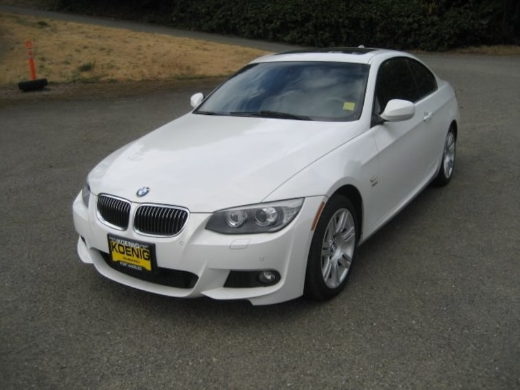 Used 2013 BMW 3 Series 335i Xdrive Coupe WBAKF9C57DE859885 In Port Angeles, WA
