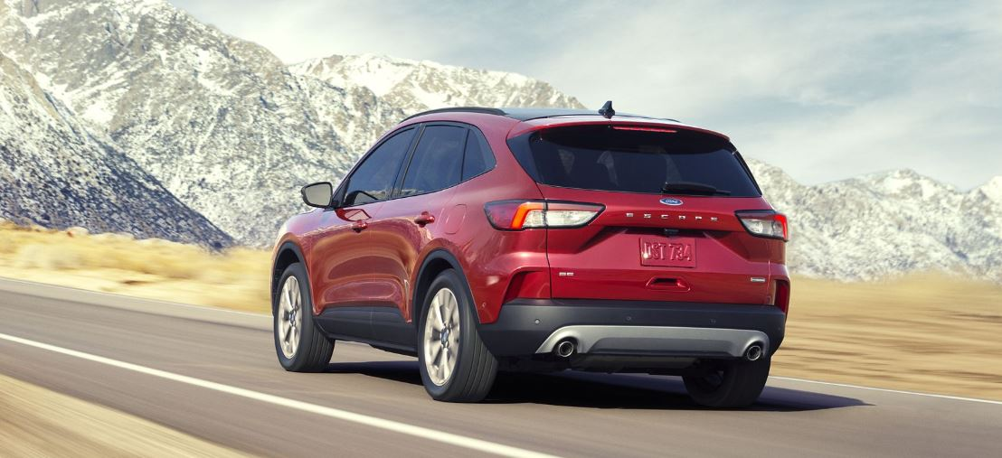 Red 2020 Ford Escape SUV