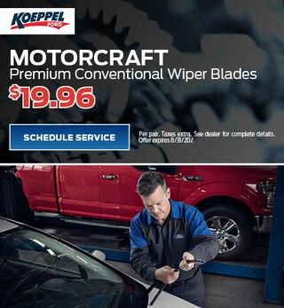 Motorcraft Premium Conventional Wiper Blades