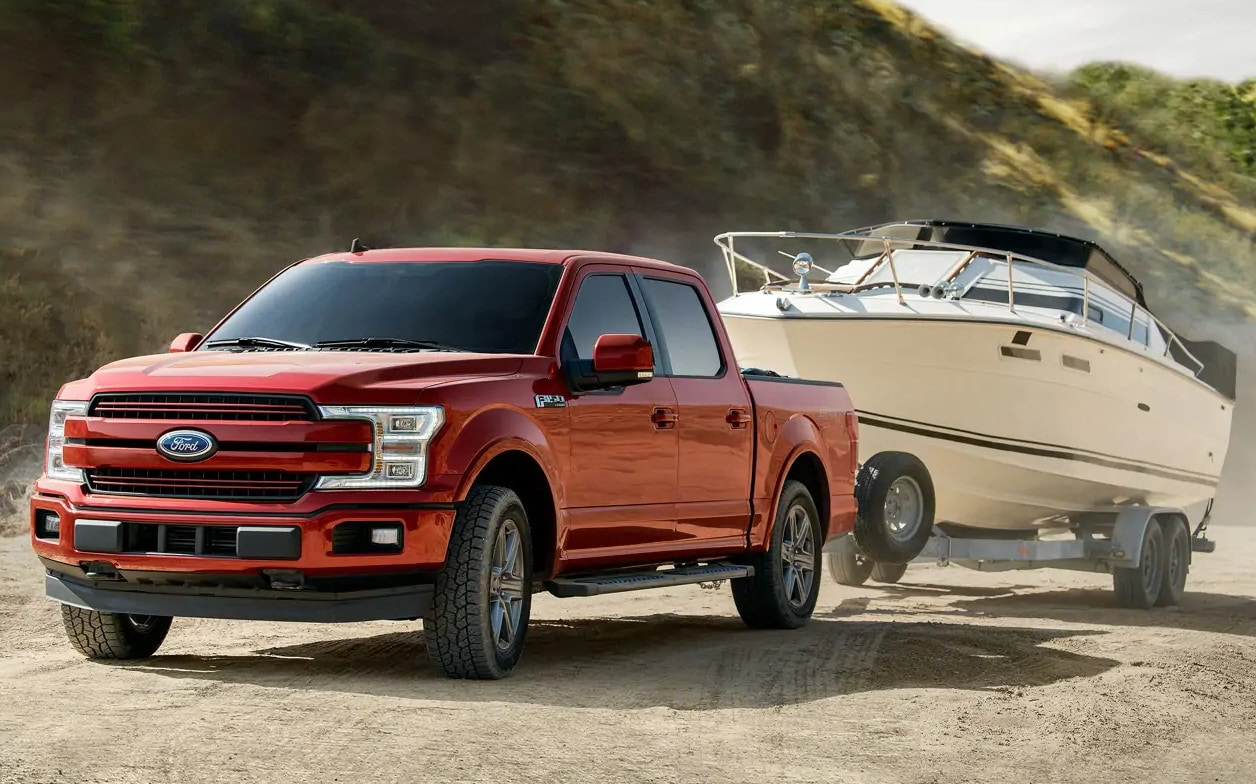 2019 Ford F150 Towing Boat
