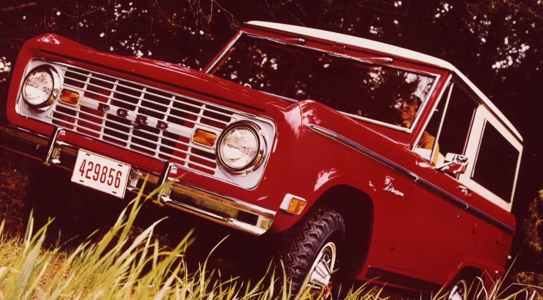 1969 Ford Bronco Sport Wagon