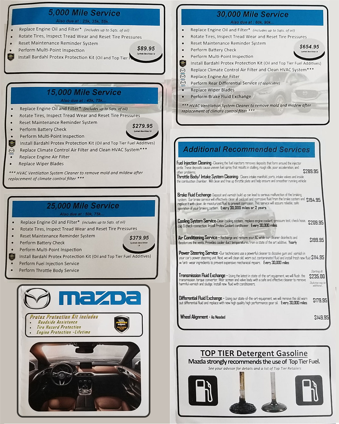 Mazda Parts in New York