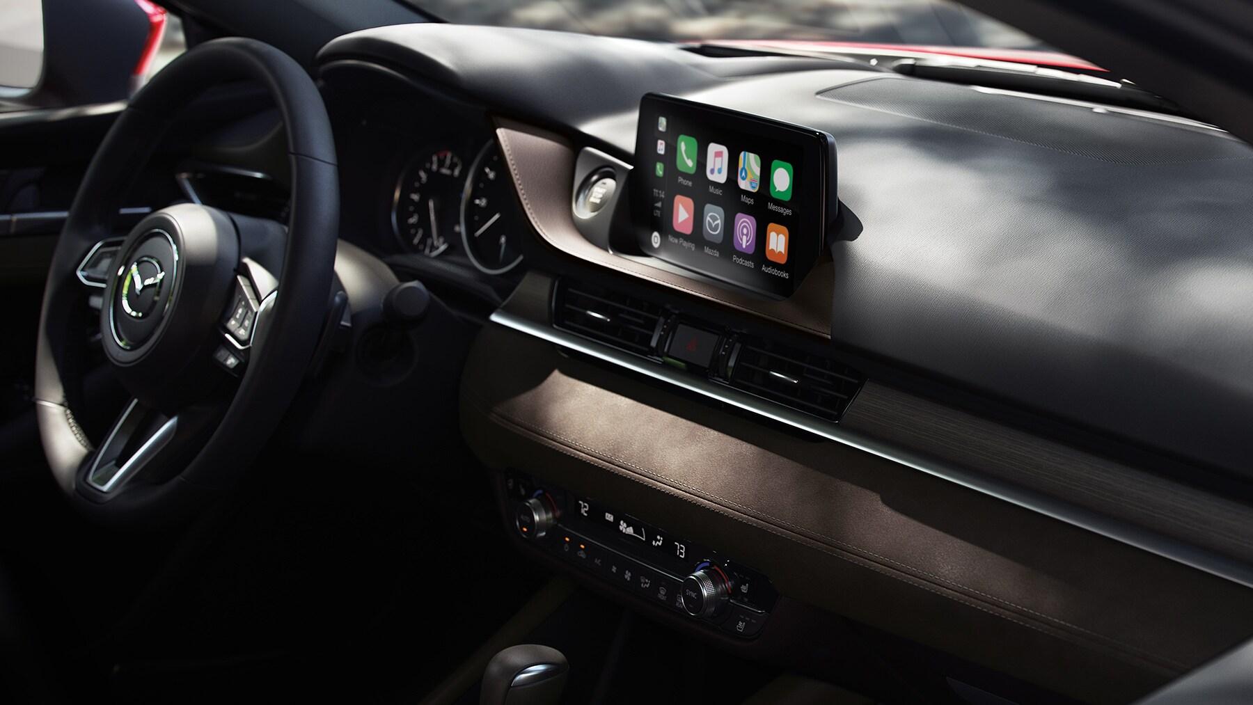 Interior of 2019 Mazda6