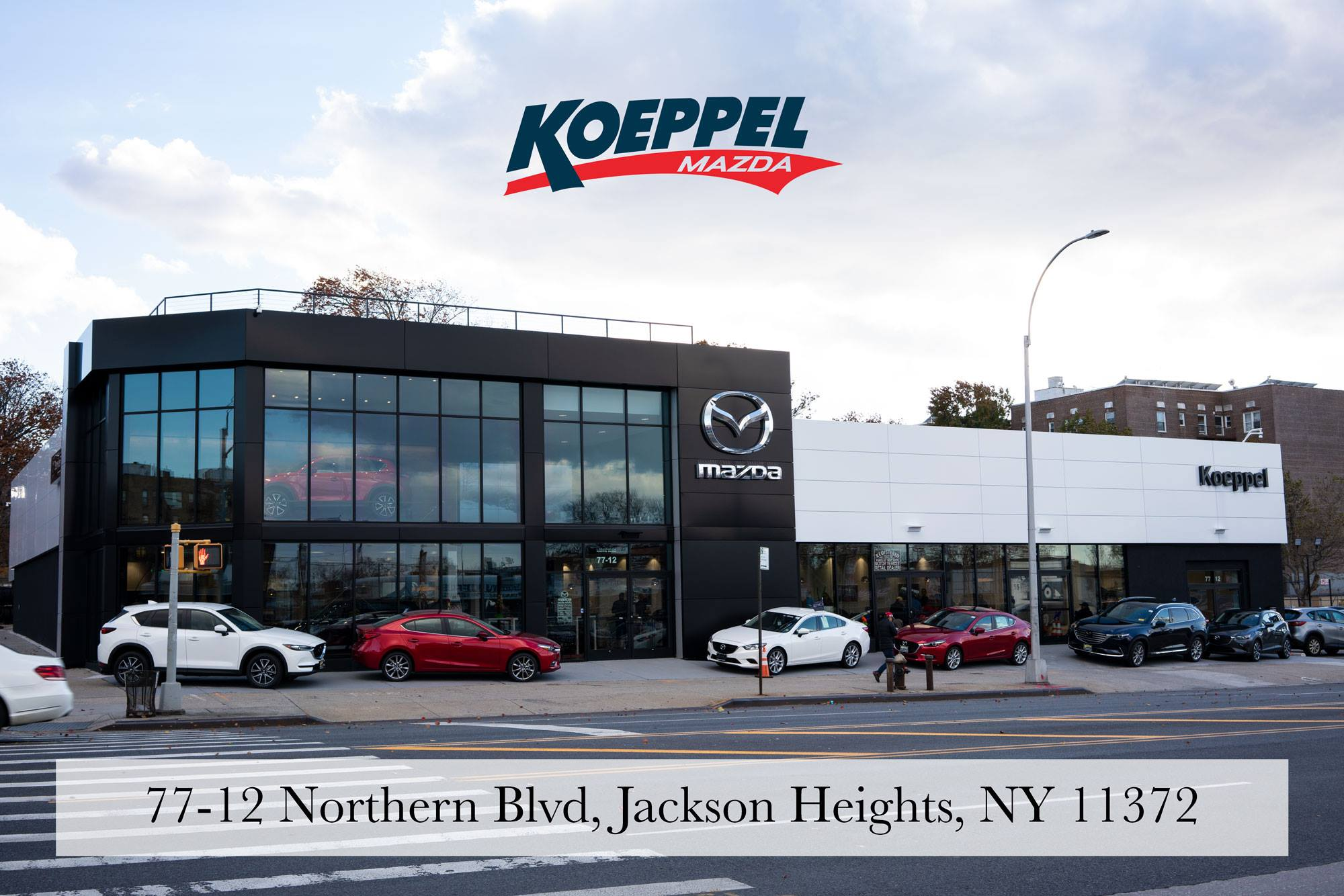 Koeppel Mazda Dealership in Jackson Heights
