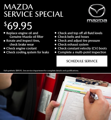 Mazda Service Special