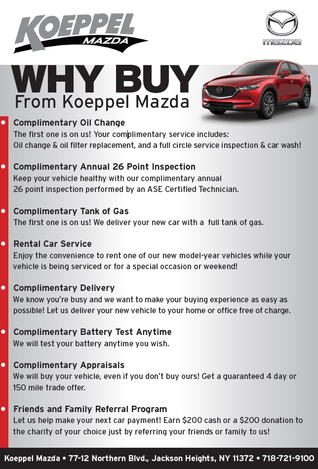 why buy from mazda dealership long island