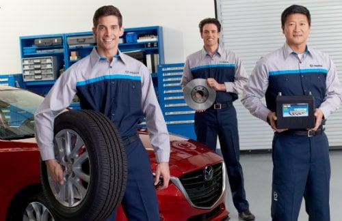 Mazda Service Technicians