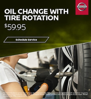 Oil Change with Tire Rotation