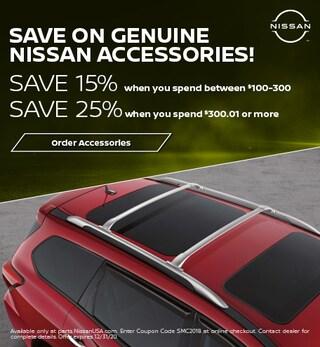 Save on Genuine Nissan Accessories