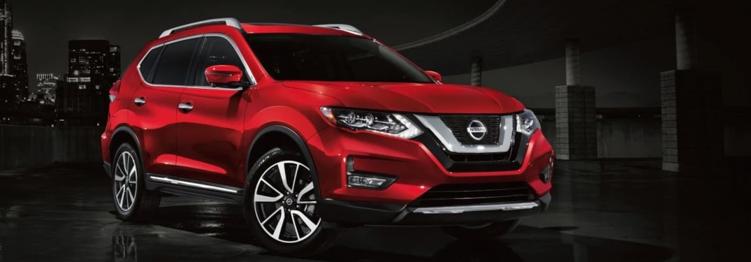2019 Red Nissan Rogue