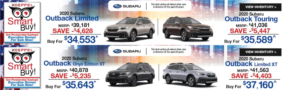 New Subaru Outback Limited/Touring/Onyx XT/Limited XT