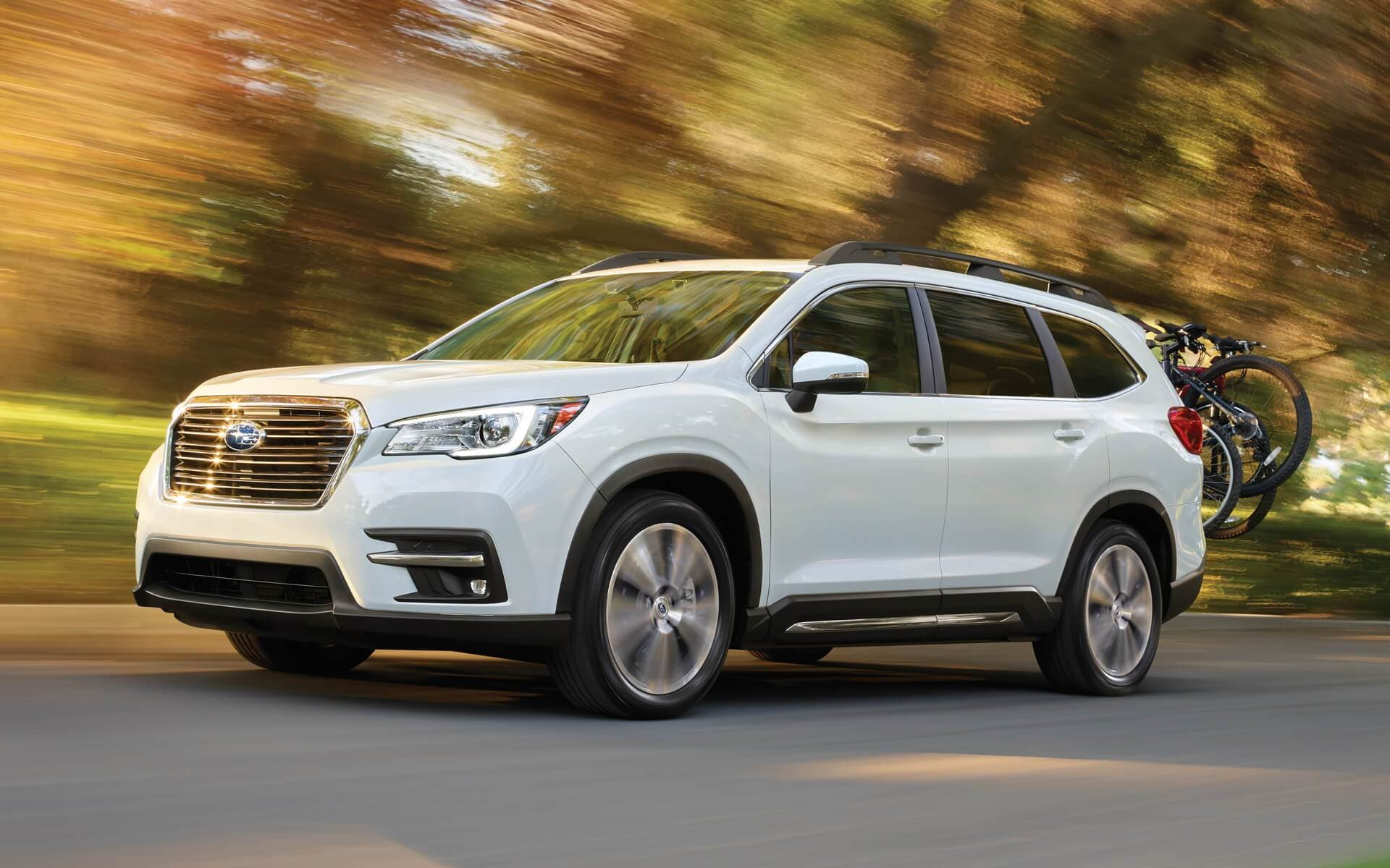 White Subaru Ascent