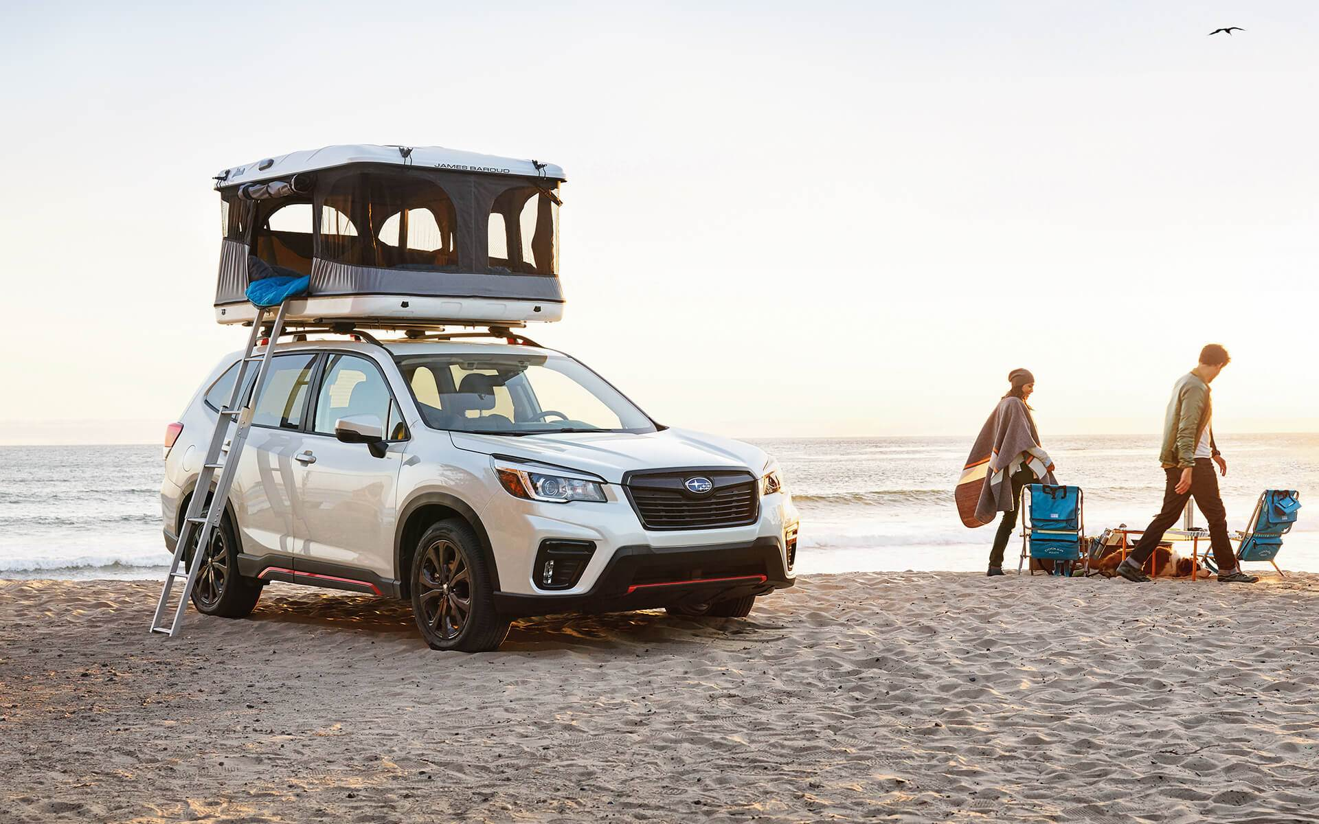 2019 Subaru Forester Sport in Crystal White Pearl