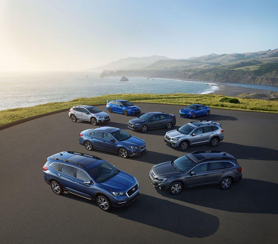New Subaru Vehicles