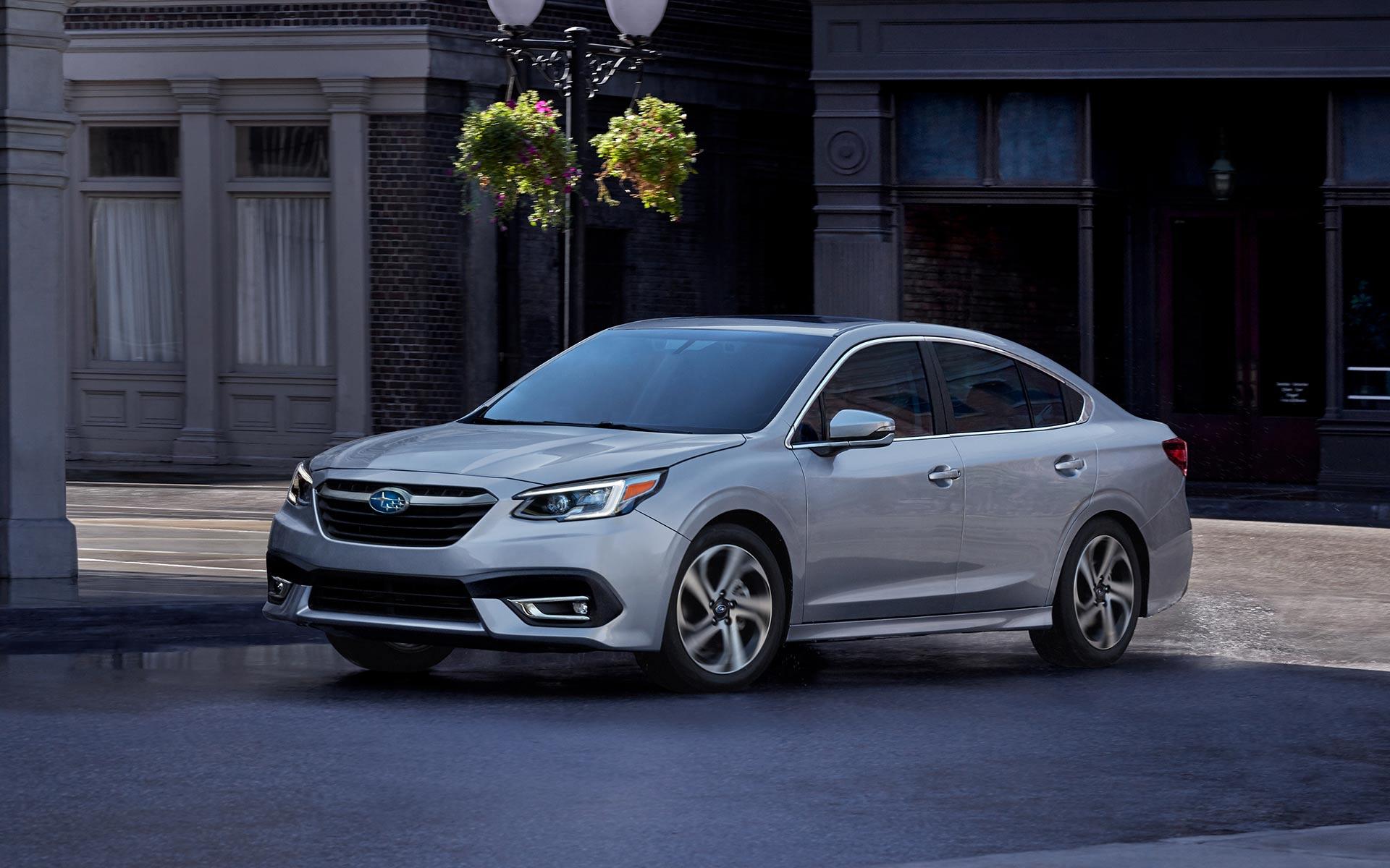 Silver 2020 Subaru Legacy
