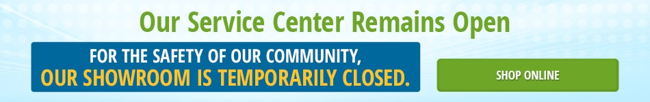 Service Center Remains Open