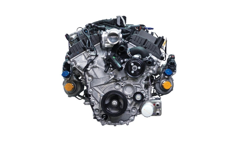 2020 Ford F-150 High-Output 3.5L EcoBoost engine