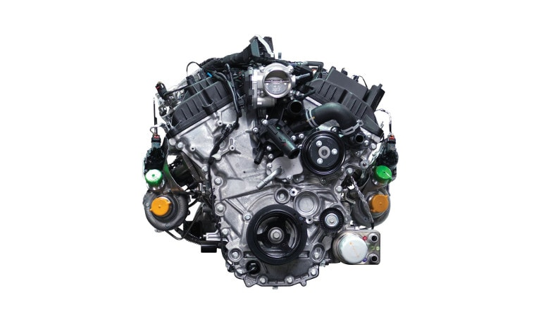 2020 Ford F-150 3.5L EcoBoost engine