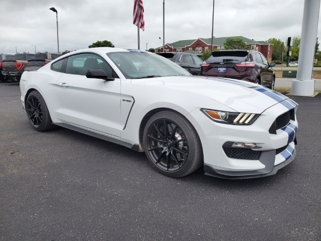 Used 2017 Ford Mustang Shelby GT350 with VIN 1FA6P8JZ4H5526296 for sale in Redwood Falls, Minnesota