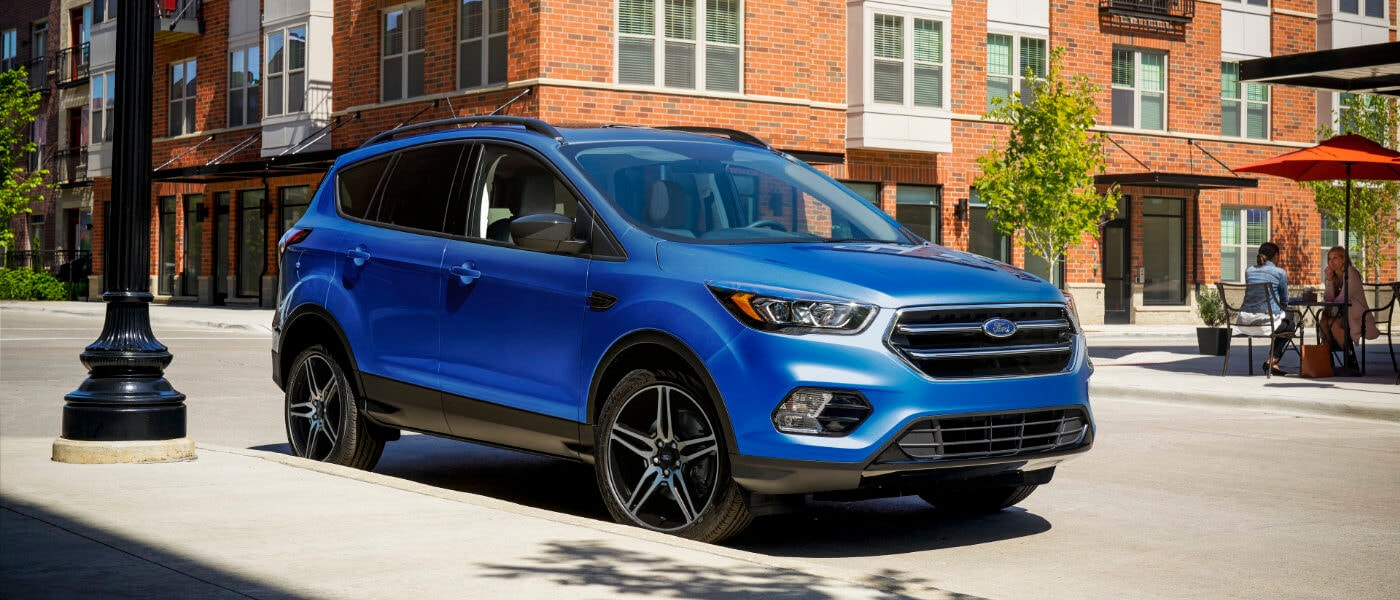 New blue 2019 Ford Escape