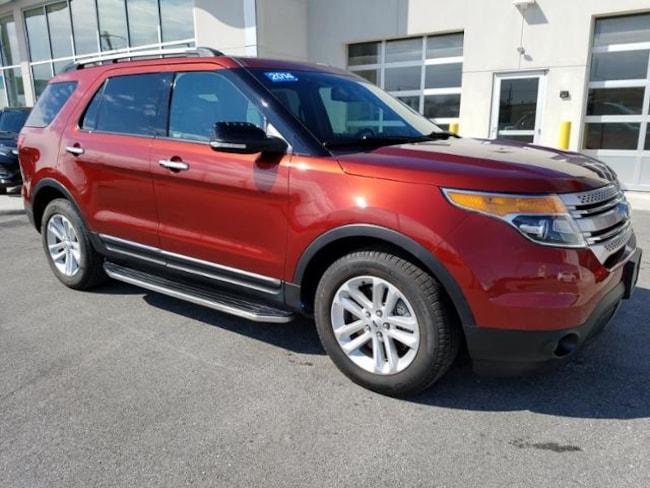 2014 Ford Explorer For Sale >> Used 2014 Ford Explorer For Sale At Kokomo Honda Vin