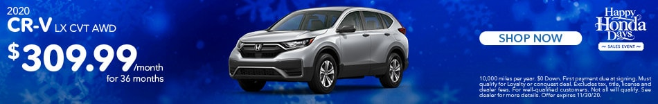 2020 Honda CR-V| Lease