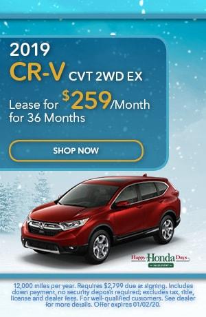 2019 CR-V CVT 2WD EX