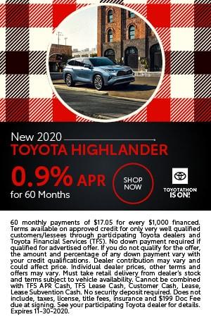 2020 Toyota Highlander | APR