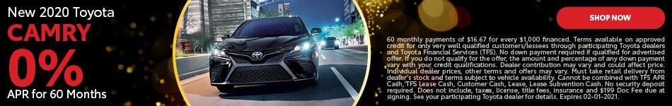 2020 Toyota Camry | APR