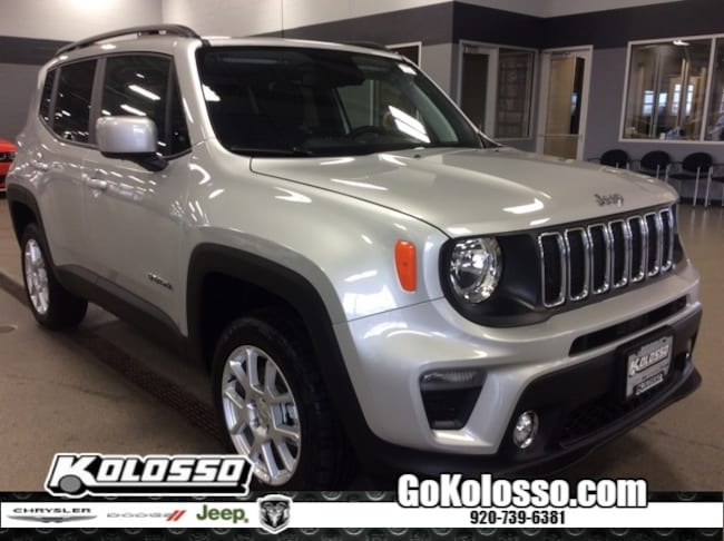 New 2019 Jeep Renegade LATITUDE 4X4 Sport Utility For Sale/Lease Appleton, WI
