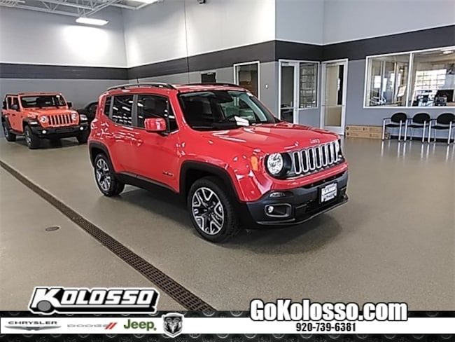 New 2018 Jeep Renegade LATITUDE 4X2 Sport Utility For Sale/Lease Appleton, WI