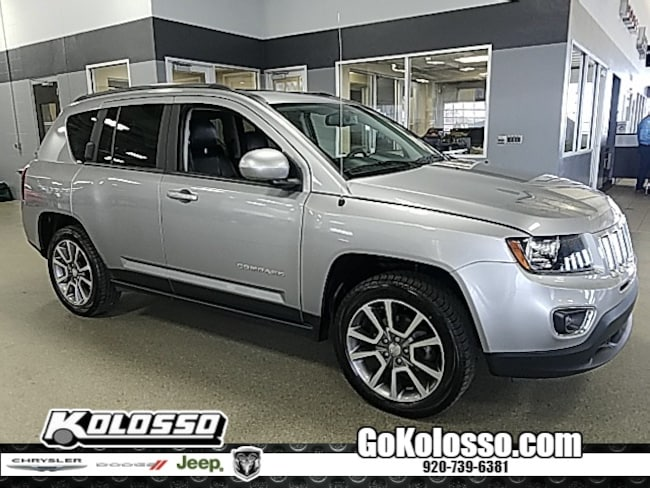 certified pre owned 2017 Jeep Compass Latitude SUV for sale appleton wi