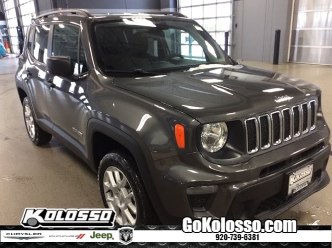 New 2019 Jeep Renegade SPORT 4X4 Sport Utility For Sale/Lease Appleton, WI