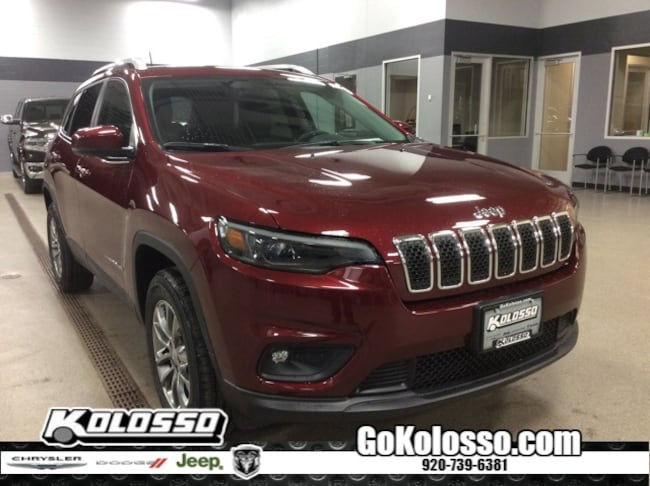 New 2019 Jeep Cherokee LATITUDE PLUS 4X4 Sport Utility For Sale/Lease Appleton, WI