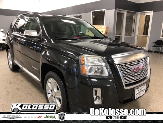 Used 2013 GMC Terrain Denali For Sale in Appleton WI | Vin